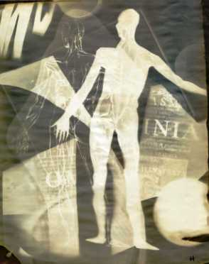 The human form clearly visible in one of Henry's Cameraless photographs.